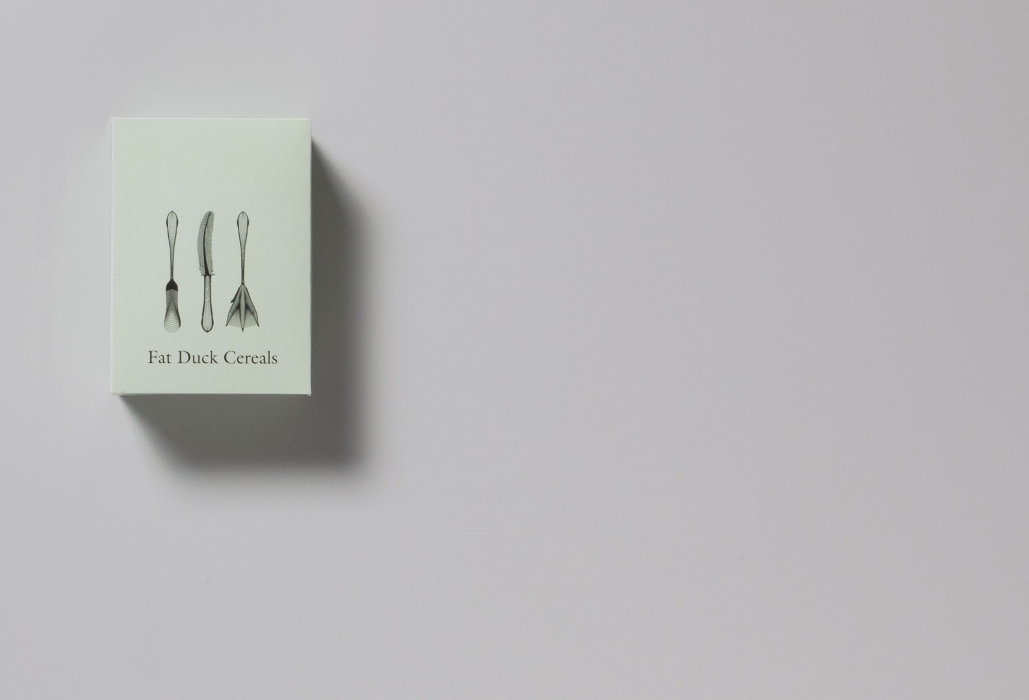 The Fat Duck logo and corporate design.