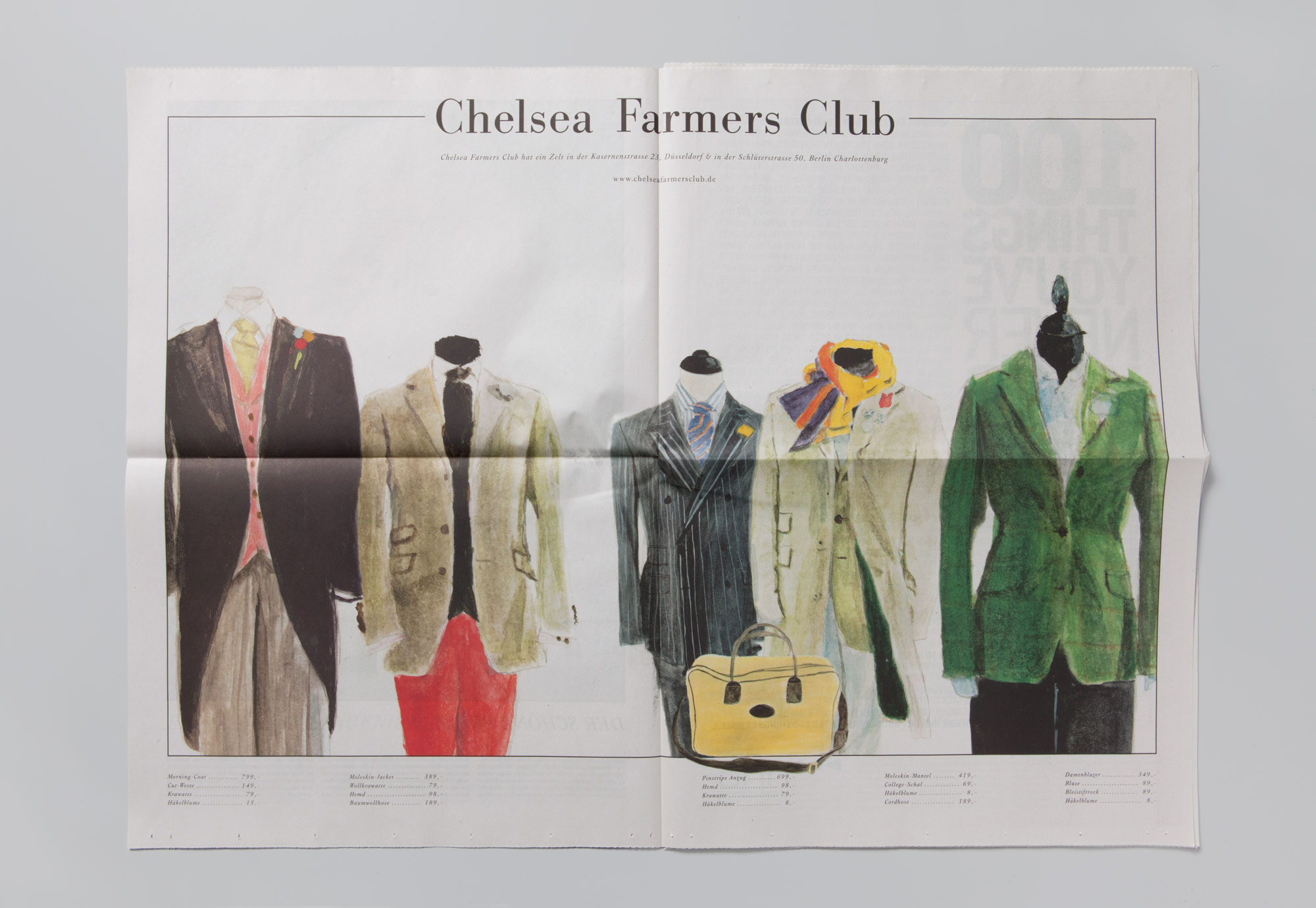 Chelsea Farmers Club. Who's really who. And what really matters.  A collection of really fine people.